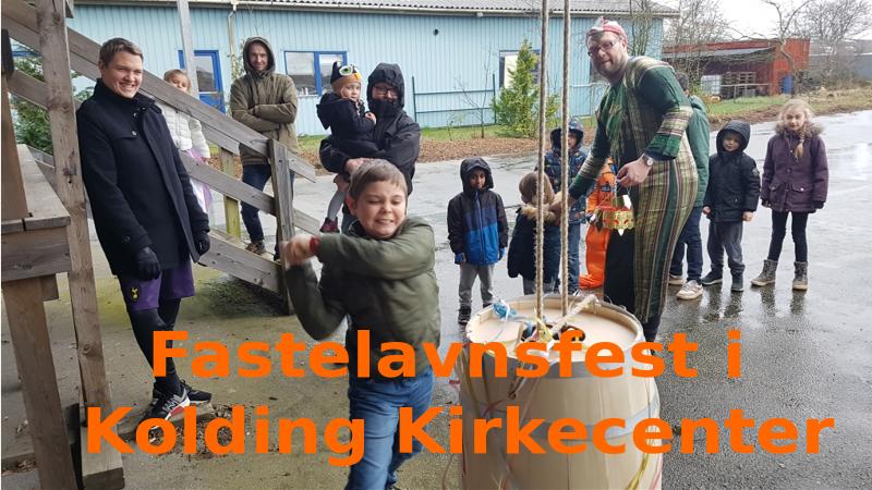 Fastelavnsfest i Kolding Kirkecenter