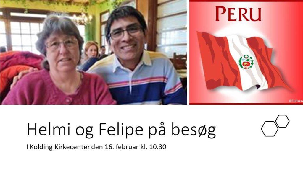 Gudstjeneste: Helmi og Felipe