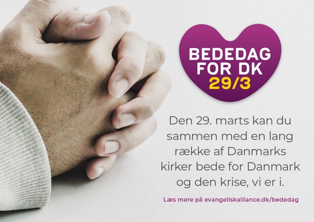 Bededag for DK 29/3